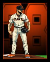 Brian Wilson - SF Giants by akira337