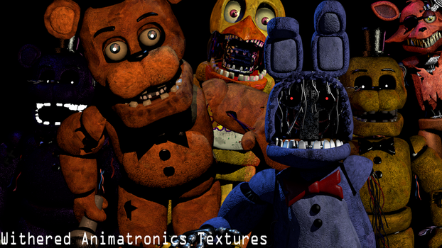 Withered Textures Release ! by YinyangGio1987