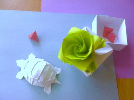 origami by aimt5000