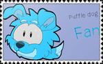 Puffle dog Fan (Stamp) by MrYamil