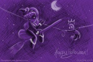 Happy halloween 2012 by OrangeBlueCream