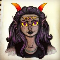 Completed Feferi Sketch by ltrchadz