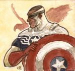 The Falcon an the new Captain America by photon-nmo