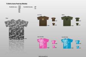 T-Shirts Icons Pack by Mickka