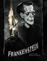 Frankenstein Poster by DevonneAmos