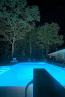 New Pool At Night by seenew