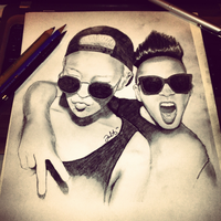 G-Dragon and Taeyang by Farah00A
