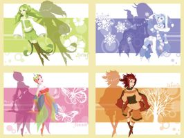 The Four Seasons by flashparade