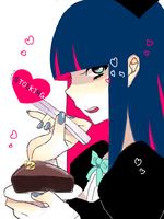 STOCKING by natamame