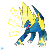 Manectric by DC-san