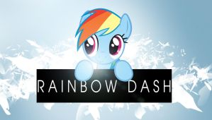 Yet another rainbow dash wallpaper by Chaz1029
