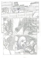 X-Men Submission page 1 (pencils) by TomRFoster