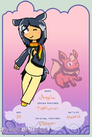 EoD app: Angela the Typhlosion REDONE by Cocoafox895