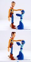 Woody Vs Megaman by AnimatorAR