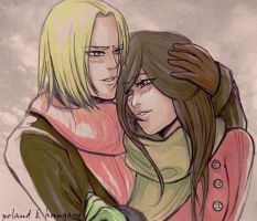 APH:cold day by Monyaa