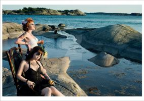 at the sea_06 by hellwoman