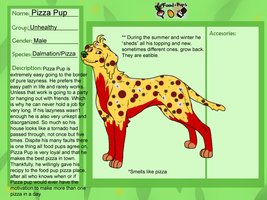 Food Pup- Pizza Pup by WickedSpecter