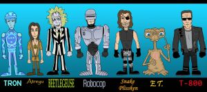 80's Lineup by Lordwormm