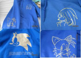 My Sonic jumper :D by HedgeCatDragonix