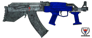Fictional Firearm: HC-105 Assault Rifle by CzechBiohazard