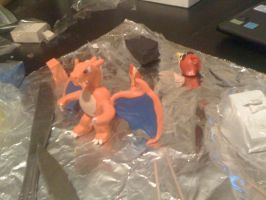 Charizard Clay 2 by UntouchedRayne