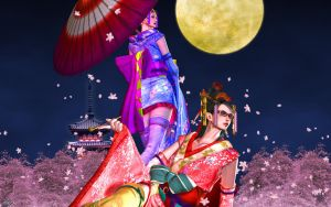 Bayonetta Kimono wallpaper B PC  (1920x1200) by ExistingBox9