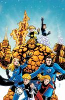 Fantastic Four Power Pack by dichiara