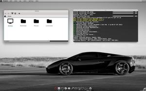Black n Grey KDE by CraazyT