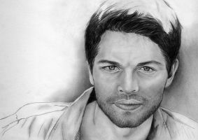 Misha Collins - WIP by RoyallyCrimson