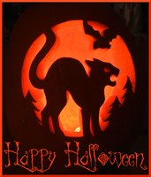 Halloween Pumpkin Carving 2014 by swandog