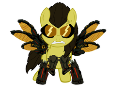 Ponified Adam Jensen, Now with ILS, Fully vectored by R1pperAnthon