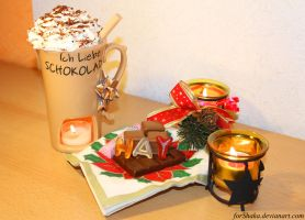 I love chocolate//Merry X-mas - December 30, 2012 by Naivaan
