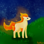 Ponyta by Howleng
