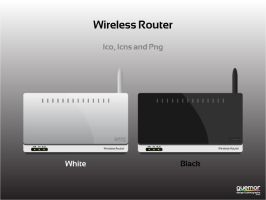 Wireless Router Icons by guemor
