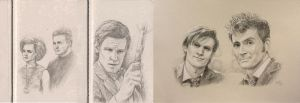 Drawing Doctor Who Project- September by Atarial