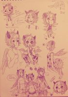 Sketch page for Nina~ by Yuu-Tanni