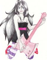 Marceline (Ink) by Drk-Haimazulee