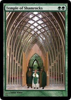Temple of Shamrocks Full Art by EnthusiasmShared