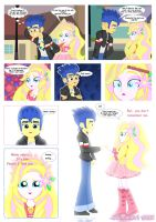 Flash Sentry and Aphrodite by jucamovi1992