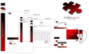 Corporate identity by alpha-100