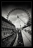 London Eye... by xMEGALOPOLISx