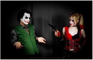 Mr J and Harley by LeanAndJess