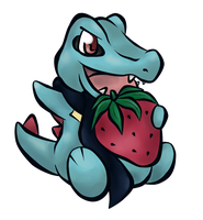 Totodile by purpleykitty