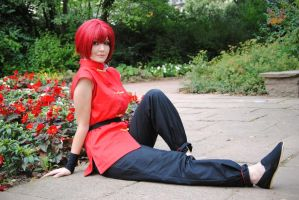 Ranma - Red Lotus by Lie-chee