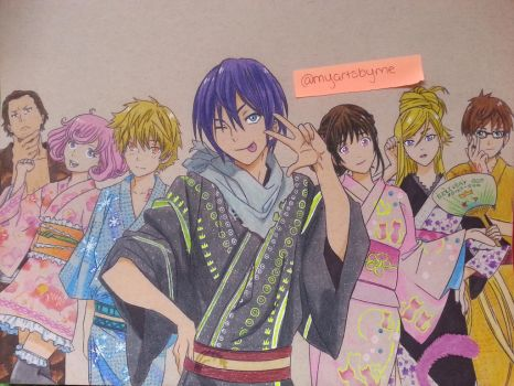 Noragami by arttoinfinity