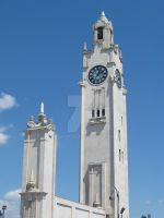 Clock Tower in Montreal by solusrose