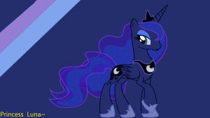 Princess Luna Wallpaper by ChillyBilly4
