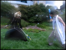 An Epic Battle by kh2kid