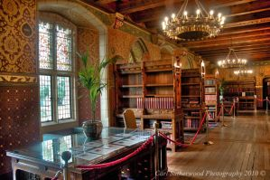 Cardiff Castle Library by The-Rover
