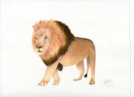 Leap Day Lion by jesus-at-art